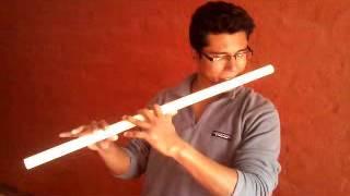 PVC flute demo