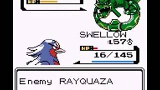 getlinkyoutube.com-Pokemon Gold Hack 8: Rayquaza and Sky Tower!!