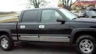 getlinkyoutube.com-2007 Chevrolet Silverado LT 1500, Crew Cab 4dr, Z71 4x4, LOADED, jet black!!!