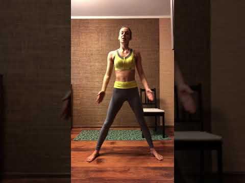 Силовая домашняя тренировка на все тело от Ксении Карпуниной и OPIUM