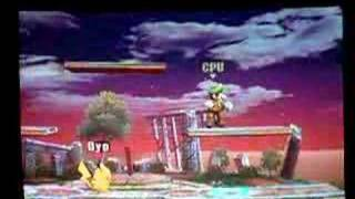 getlinkyoutube.com-Advanced Brawl Techniques 3 Part 2:Pikachu Quick Attack