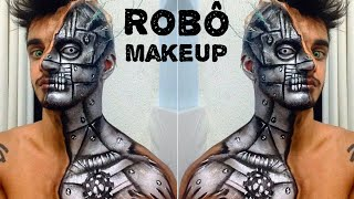 getlinkyoutube.com-Makeup robô / robotic makeup - Victor Nogueira