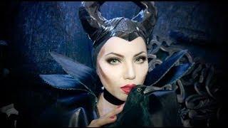 getlinkyoutube.com-Disney's Maleficent Makeup Tutorial