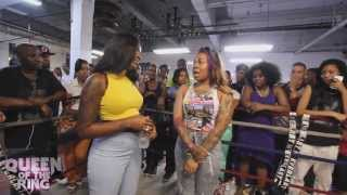 getlinkyoutube.com-BABS BUNNY & VAGUE presents QUEEN OF THE RING MS MURK vs PHARA FUNERAL