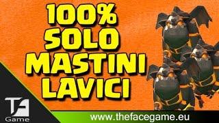 getlinkyoutube.com-100% Solo MASTINI LAVICI Livello 3 --Clash of Clans ITA--