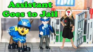 getlinkyoutube.com-PAW PATROL Nickelodeon Secret Agent Assistant Goes to Jail a Paw Patrol Assistant Video Parody