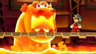 getlinkyoutube.com-New Super Mario Bros U - All Castle Bosses