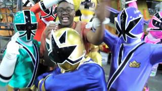 Black Nerd Joins The Power Rangers