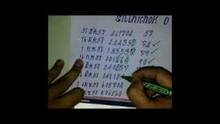 getlinkyoutube.com-lสูตรคำนวณหวยเลขท้าย 3 ตัวบนแม่นๆ เข้า 18 งวดแล้ว!!เด่น1000%