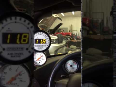 1997 Viper F1-C Procharger in car dyno pull