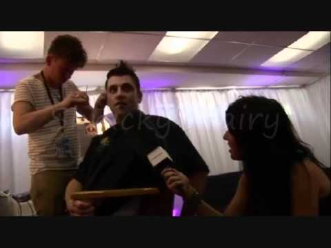 Westlife Mark Feehily Backstage at the O2 blueroom 2010_ part_2