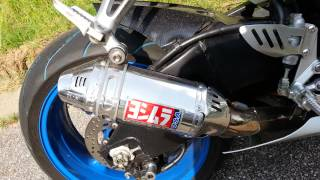 getlinkyoutube.com-2006 K6 GSX-R1000 with shortened Yoshimura