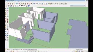 getlinkyoutube.com-1 - دروس لعمل فيلا Google SketchUp 7