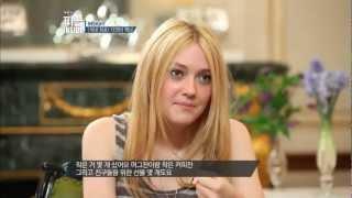 """백지연의 피플 INSIDE - """"People Inside"""" Ep.299: 다코타 패닝, 한국 방문! 그녀의 시선을 사로잡은 것은?"""
