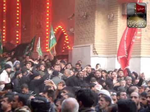 10 Muharram 2012 - Karbala Different Vidoes In One Clip - Ashura At Karbala Part 2/2