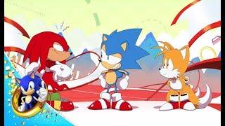 Sonic Mania - Nyitó Animáció