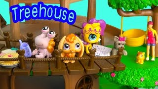 getlinkyoutube.com-LPS Treehouse Littlest Pet Shop Bobblehead Squinkies Doll - Play Cookieswirlc Video