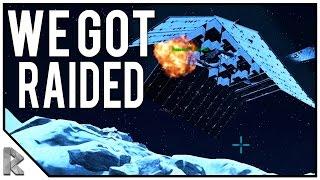 "WE GOT RAIDED! - Ark Survival Evolved ""The Volcano"" PVP #27"