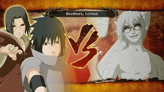getlinkyoutube.com-Naruto Shippuden: Ultimate Ninja Storm 3: FULL BURST - Sage Kabuto vs Sasuke & Itachi Boss Battle