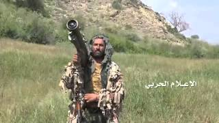 getlinkyoutube.com-شاهد: عمليات قنص واستهداف للاليات في موقع غاوية بجيزان وفرار للجنود