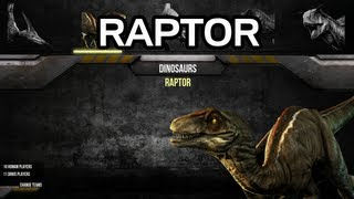 getlinkyoutube.com-Primal Carnage - Raptor Gameplay