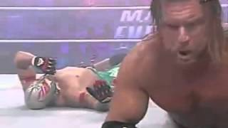 getlinkyoutube.com-WWE Triple H & John Cena vs Randy Orton, Kurt Angle & Rey Mysterio HD