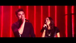 "getlinkyoutube.com-Zac Efron and Zoey Deutch sing ""Because You Loved Me"" in Dirty Grandpa"