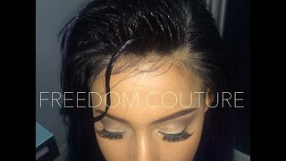 getlinkyoutube.com-How to Make your lace wig Natural.Custom hair line  NO GLUE,NO SEW IN Everything you need to know!