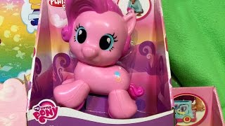 getlinkyoutube.com-New Pinkie Pie PlaySkool Friends My Little Pony Walking Pony Toy MLP Review Unboxing