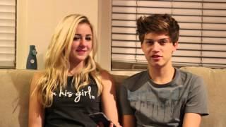 getlinkyoutube.com-Q & A with Ricky Garcia and Chloe Lukasiak - Boyfriend Tag