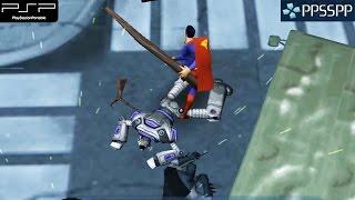 getlinkyoutube.com-Justice League Heroes - PSP Gameplay 1080p (PPSSPP)