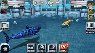 getlinkyoutube.com-Jurassic Park Builder - Aquatic All Star League tournament mode online