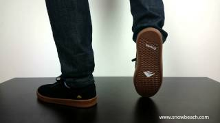 EMERICA THE ROMERO LACED black gum