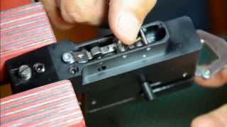getlinkyoutube.com-KalibrGun Cricket Air Gun PCP Trigger Modification and Adjustment #1