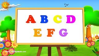 getlinkyoutube.com-ABC Song | ABCD Alphabet Songs | ABC Songs for Children - 3D ABC Nursery Rhymes