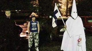 getlinkyoutube.com-Racists Greet Iraqi Refugees With Rocks, Fireworks, And Hate