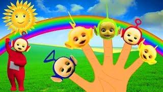 getlinkyoutube.com-Teletubbies #Finger Family Nursery Rhymes
