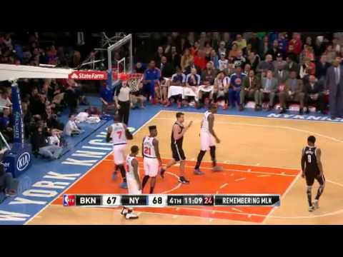 Brooklyn vs New York NBA Highlights 01/21/2013