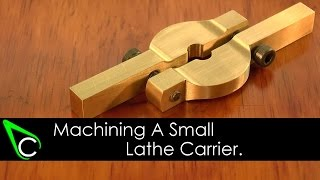 getlinkyoutube.com-Home Machine Shop Tool Making - Machining A Small Lathe Carrier