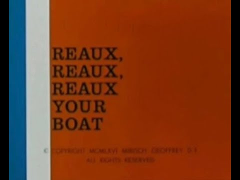 The Inspector: REAUX, REAUX, REAUX YOUR BOAT (TV version, laugh track)