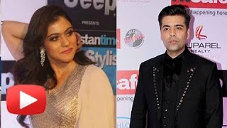 Enemies Karan Johar And Kajol IGNORE Each Other | STRICT Instructions To Keep Them Apart