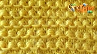 getlinkyoutube.com-Cómo Tejer CADENITA BORDADA 2 agujas (391)