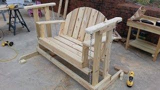 getlinkyoutube.com-How to build a porch swing glider.