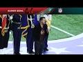 Luke Bryans Super Bowl LI National Anthem   NFL