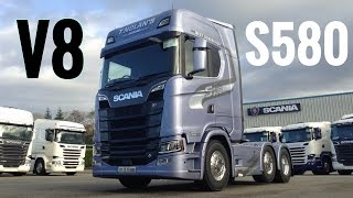 getlinkyoutube.com-2017 New SCANIA S580 V8 Truck - Full Tour & Test Drive - Stavros969 4K