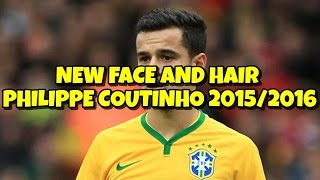 getlinkyoutube.com-NEW FACE AND HAIR PHILIPPE COUTINHO 2015/2016 | PES 2013