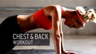 getlinkyoutube.com-Chest and Back Workout