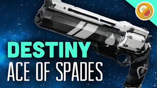 getlinkyoutube.com-DESTINY Ace of Spades Fully Upgraded Exotic Hand Cannon Review (The Taken King Exotic)