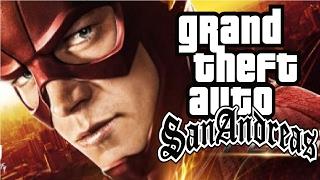 getlinkyoutube.com-GTA San Andreas - The Flash Super Speed Mod