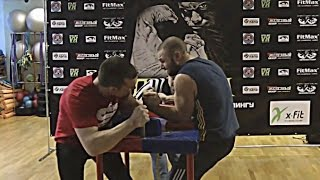 getlinkyoutube.com-LEFTY 2015: Moscow Open Armwrestling left hand Champs